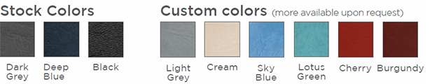 Seers Table Colour Options