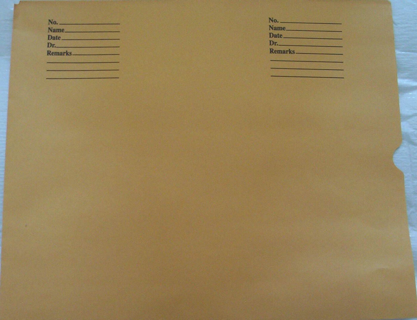 X-Ray Envelopes for Filing