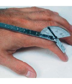 Finger Goniometer, Stainless Steel