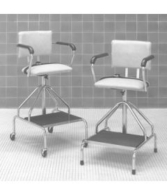 "Hydrotherapy Chair (29.5"" - 43.5"") with Rubber Tips"