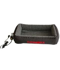 Thermotex Pet Bed - Large (Sherpa Grey)