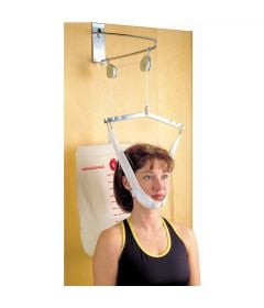 Overdoor Cervical Traction Device