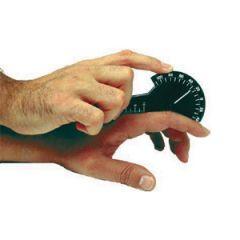 Finger Goniometer, Plastic