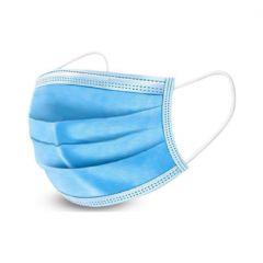 Masque de procédure 3-plis, 50/pq