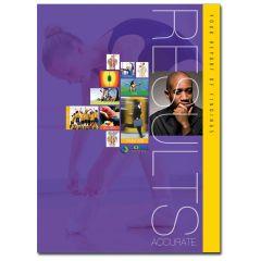 CLA Report Core Score Folder (Purple)