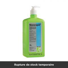 Manorapid Hand-Antiseptic, 1 litre, Pump