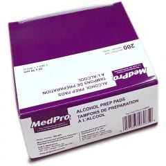 Alcohol Wipes, 200/box - Medpro