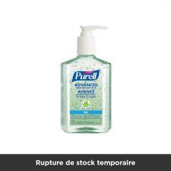 Désinfectant pour les mains Purell avec aloès - 236 ml (flacon pompe)