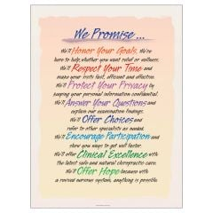 We Promise Poster, Paper