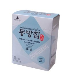 Dong Bang Acupuncture Needles - Spring Handle - 100 per box