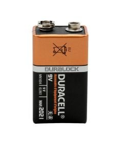 9 Volt Battery - One Battery - Duracell Procell