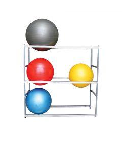 Ball Storage Rack- Horizontal 62''W x 22''D x 62''H With Wheels