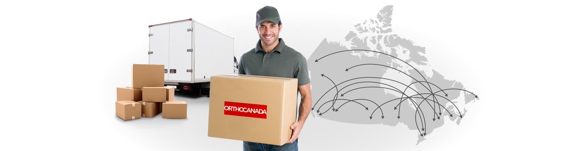 We Ship Anywhere Across Canada!
